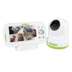 Uniden BW3451R 4.3inch Digital Wireless Baby Video Monitor Pan & Tilt w remote viewing
