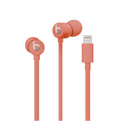 Beats by Dre urBeats3 Earphones with Lightning Connector - Coral