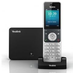 Yealink W60P Wireless DECT Solution with W60B Base Station and 1x W56H Handset
