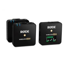 Rode Wireless GO II Dual Channel Wireless Microphone System