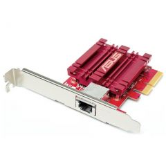 ASUS XG-C100C 10GBase-T PCIe Network Adapter With RJ45 Port and Built-in QoS