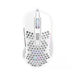 Xtrfy M4 Ultra-Light RGB Gaming Mouse - White