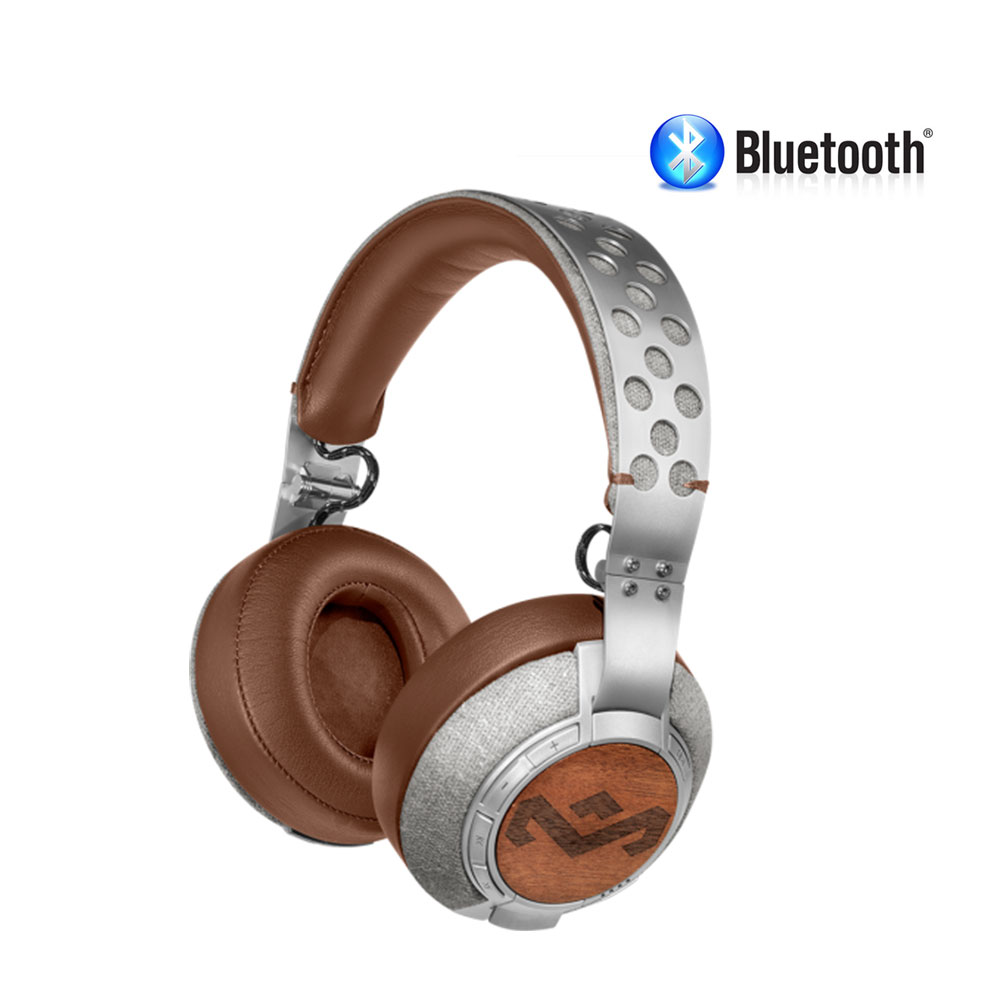 Bluetooth headphones wireless headband - House of Marley Liberate XLBT - headphones with mic Overview