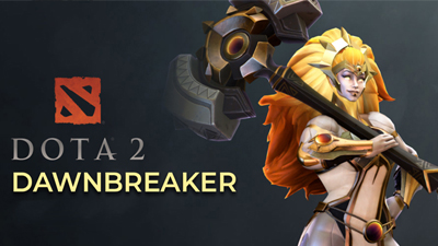 Dawnbreaker! DOTA 2's newest hero! Find out more here!