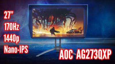 "The Perfect 27"" 1440p Gaming Monitor? - AOC AGON AG273QXP"