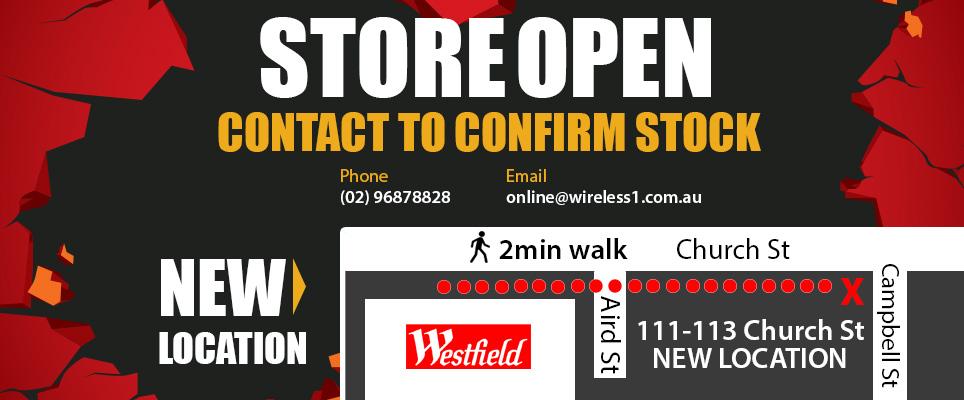 Wireless 1 Store Relocation