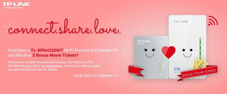 TP-Link TL-WPA4220KIT Valentines 2016 Promotion